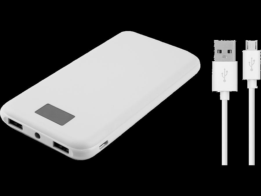 Аккумулятор Continent, Li-Pol, 8000 мАч, белый (портативный)