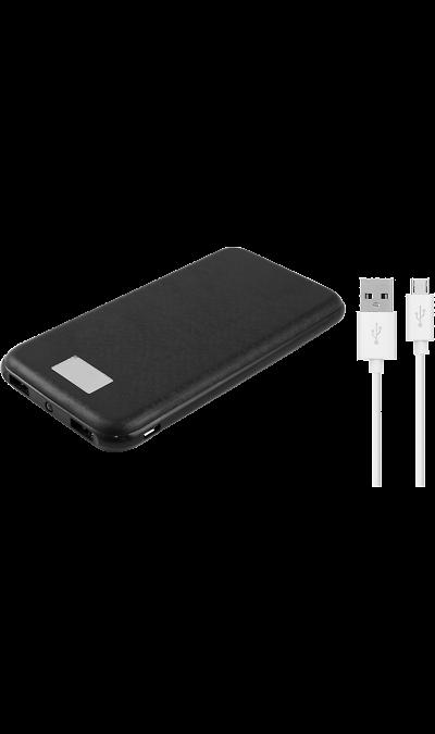 Аккумулятор Continent, Li-Pol, 8000 мАч, черный (портативный)Аккумуляторы внешние<br>Резервный аккумулятор Continent - устройство, предназначенное для зарядки портативных устройств без помощи электрической сети. Особенно актуален для путешественников и туристов в местах, где невозможен или ограничен доступ к электроэнергии. Резервный аккумулятор Continent подходит для портативных устройств, таких как смартфоны, планшеты, мобильные телефоны и МР3-плееры.<br>Для зарядки устройств Apple необходимо использовать кабель идущий в комплекте с телефоном.<br><br>Colour: Черный