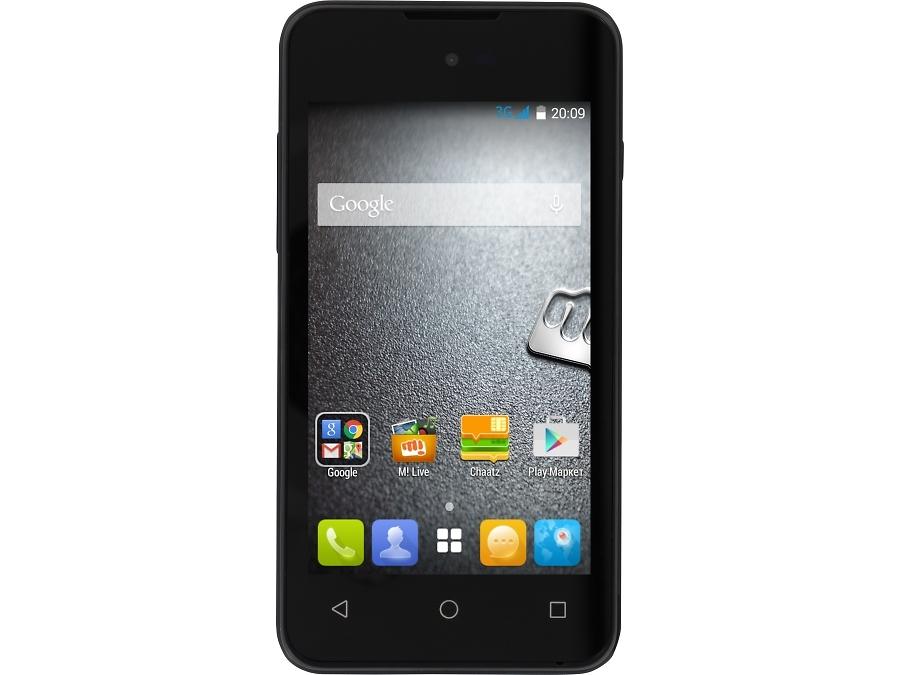 Школьный комплект: смартфон Micromax BOLT D303 Black + бонус 300 на счет