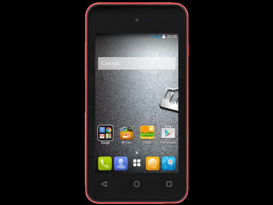 Micromax Школьный комплект: смартфон Micromax BOLT D303 Red + бонус 300 на счет micromax школьный комплект смартфон micromax bolt d303 green бонус 3000 на счет