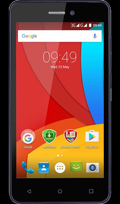 Prestigio Muze K5Смартфоны<br>2G, 3G, 4G, Wi-Fi; ОС Android; Камера 8 Mpix, AF; Разъем для карт памяти; MP3, FM,  GPS; Вес 164 г.<br><br>Colour: Черный