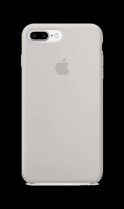Чехол-крышка Apple для Apple iPhone 7 Plus/8 Plus, силикон, серыйЧехлы и сумочки<br>Силиконовый чехол iPhone 7 Plus плотно прилегает к кнопкам громкости и режима сна, точно повторяет контуры телефона, но при этом не делает его громоздким. Мягкая подкладка из микроволокна защищает корпус вашего iPhone. А его внешняя силиконовая поверхность очень приятна на ощупь.<br><br>Colour: Серый