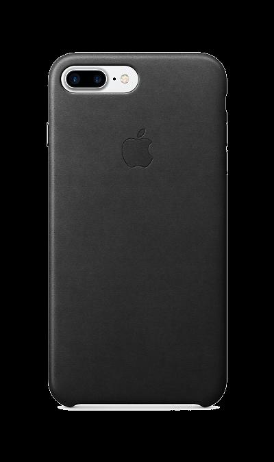 Чехол-крышка Apple для Apple iPhone 7 Plus/8 Plus, кожа, черныйЧехлы и сумочки<br>Чехлы, созданные Apple, точно повторяют контуры iPhone, не делая его громоздким. Эти чехлы изготовлены из мягкой кожи европейского производства, которая со временем покрывается благородной патиной. Мягкая внутренняя поверхность, выполненная из микроволокна, защищает корпус вашего iPhone. А кнопки из обработанного алюминия идеально подходят по цвету к чехлу.<br><br>Colour: Черный