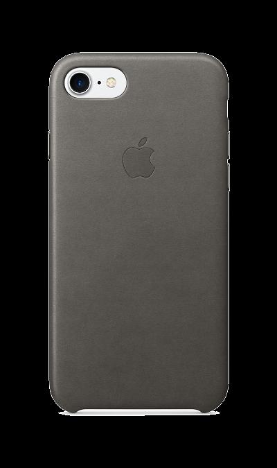Apple Чехол-крышка Apple для Apple iPhone 7/8, кожа, серый universal car swivel mount holder with suction cup for mobile phone white