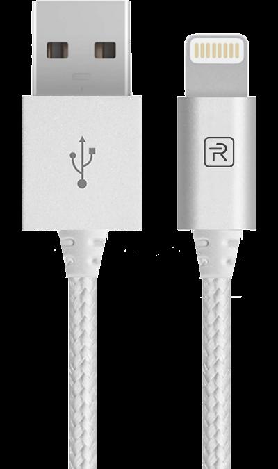 Revocharge Кабель Revocharge USB - Lightning (серебристый) zarina кабель usb