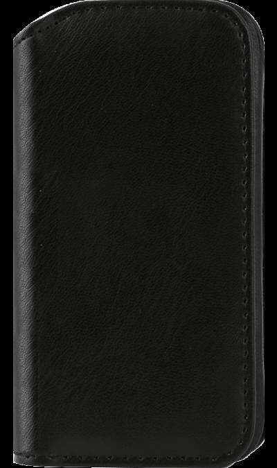 Fast fashion case Кобура Fast fashion case для iPhone 4/4S, кожзам, черная кобура кобура gletcher поясная для grach