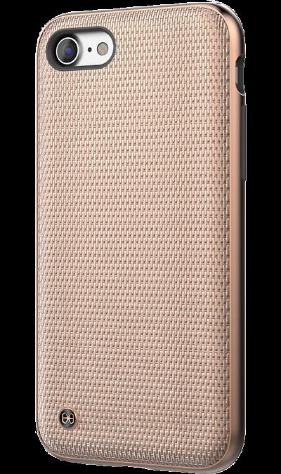 Чехол-крышка Stil Chain Armor для Apple iPhone 7/8, полиуретан, золотистыйЧехлы и сумочки<br>Чехол поможет не только защитить ваш Apple iPhone 7 от повреждений, но и сделает обращение с ним более удобным, а сам аппарат будет выглядеть еще более элегантным.<br><br>Colour: Золотистый