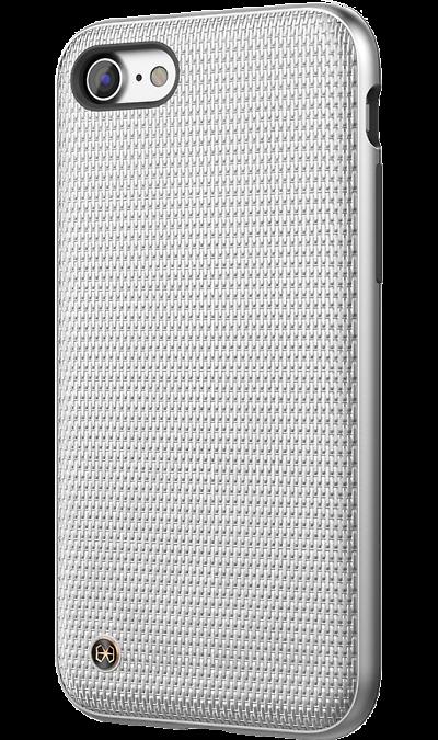 Чехол-крышка Stil Chain Armor для Apple iPhone 7/8, полиуретан, серебристыйЧехлы и сумочки<br>Чехол поможет не только защитить ваш Apple iPhone 7 от повреждений, но и сделает обращение с ним более удобным, а сам аппарат будет выглядеть еще более элегантным.<br><br>Colour: Серебристый