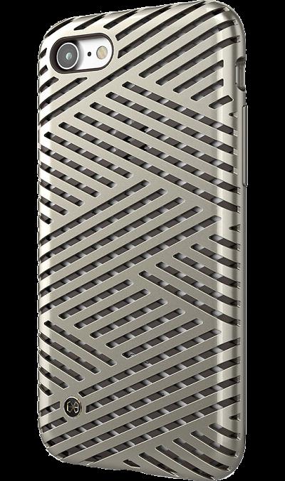 Чехол-крышка Stil Kaiser II для Apple iPhone 7, полиуретан, золотистыйЧехлы и сумочки<br>Чехол поможет не только защитить ваш Apple iPhone 7 от повреждений, но и сделает обращение с ним более удобным, а сам аппарат будет выглядеть еще более элегантным.<br><br>Colour: Золотистый