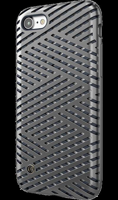 Чехол-крышка Stil Kaiser II для Apple iPhone 7/8, полиуретан, серебристыйЧехлы и сумочки<br>Чехол поможет не только защитить ваш Apple iPhone 7 от повреждений, но и сделает обращение с ним более удобным, а сам аппарат будет выглядеть еще более элегантным.<br><br>Colour: Серебристый