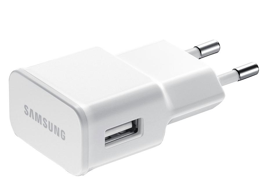 Фото Зарядное устройство сетевое Samsung USB Type-C (белое). Купить в РФ