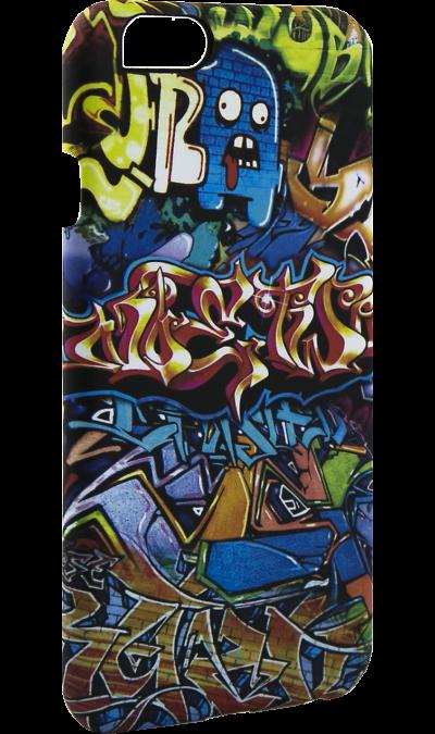 Чехол-крышка i-Paint GRAFFITI для Apple iPhone 6/6S, пластик, узорЧехлы и сумочки<br>Чехол поможет не только защитить ваш смартфон от повреждений, но и сделает обращение с ним более удобным, а сам аппарат будет выглядеть еще более элегантным.<br><br>Colour: Разноцветный