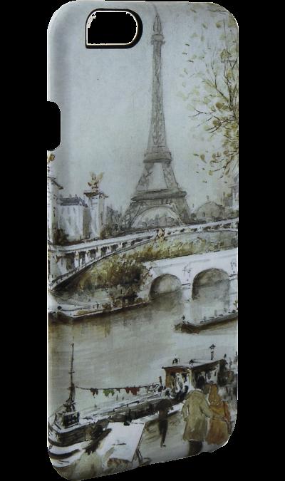 i-Paint Чехол-крышка i-Paint PARIS для Apple iPhone 6/6S, пластик, узор цена