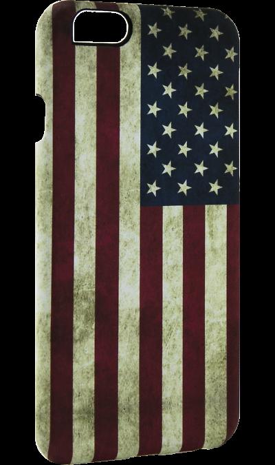 Чехол-крышка i-Paint USA для Apple iPhone 6/6S, пластик, узорЧехлы и сумочки<br>Чехол поможет не только защитить ваш смартфон от повреждений, но и сделает обращение с ним более удобным, а сам аппарат будет выглядеть еще более элегантным.<br><br>Colour: Разноцветный