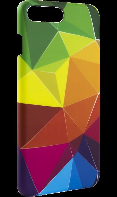 Чехол-крышка i-Paint RAINBOW для Apple iPhone 7/8 Plus, пластик, узорЧехлы и сумочки<br>Чехол поможет не только защитить ваш смартфон от повреждений, но и сделает обращение с ним более удобным, а сам аппарат будет выглядеть еще более элегантным.<br><br>Colour: Разноцветный