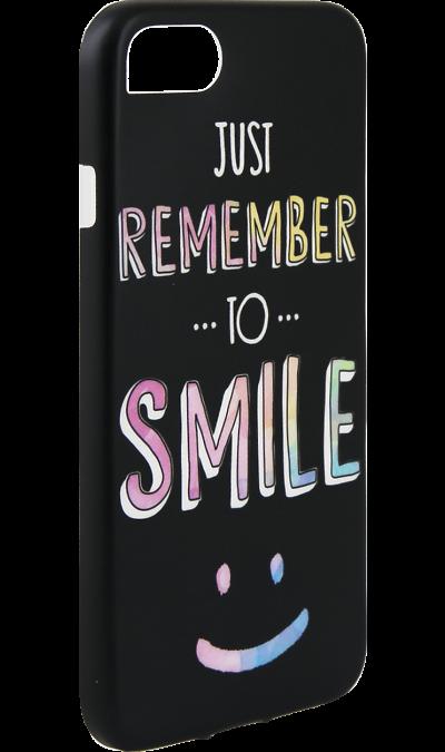 Чехол-крышка i-Paint SMILE для Apple iPhone 7/8, пластик, узорЧехлы и сумочки<br>Чехол поможет не только защитить ваш смартфон от повреждений, но и сделает обращение с ним более удобным, а сам аппарат будет выглядеть еще более элегантным.<br><br>Colour: Разноцветный