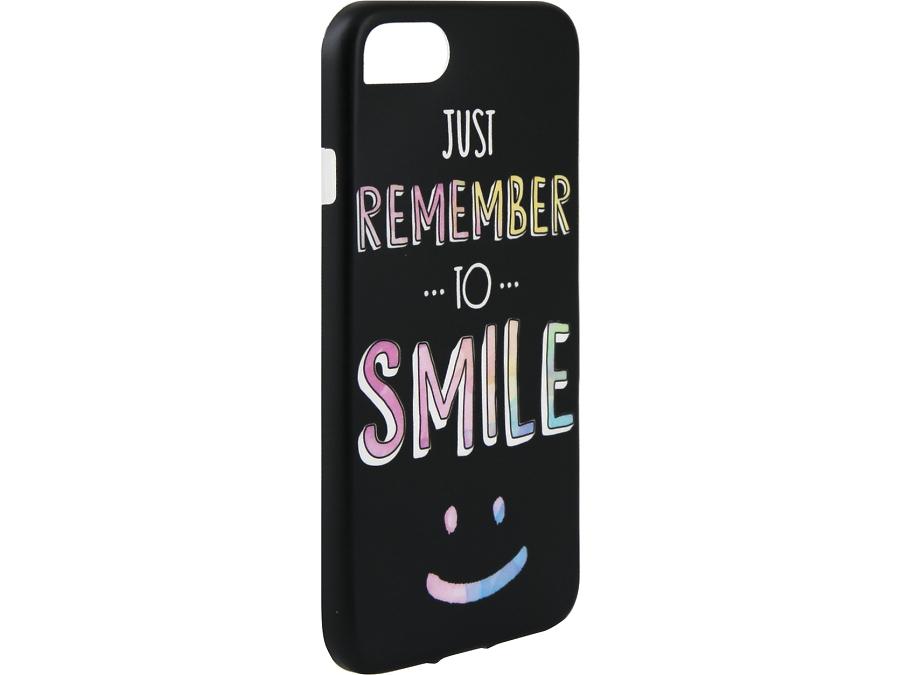 Чехол-крышка i-Paint SMILE для Apple iPhone 7, пластик, узор