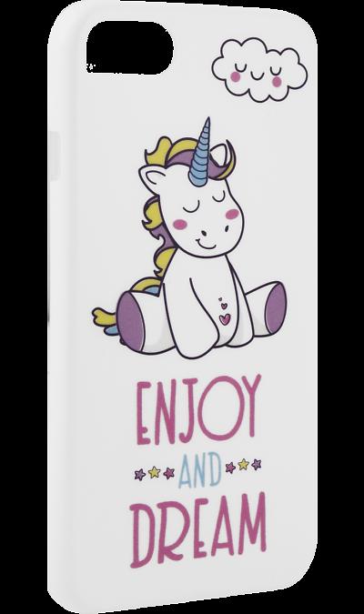 Чехол-крышка i-Paint DREAM для Apple iPhone 7/8, пластик, узорЧехлы и сумочки<br>Чехол поможет не только защитить ваш смартфон от повреждений, но и сделает обращение с ним более удобным, а сам аппарат будет выглядеть еще более элегантным.<br><br>Colour: Разноцветный