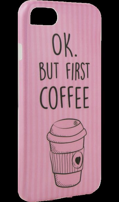 Чехол-крышка i-Paint COFFEE MUG для Apple iPhone 7/8, пластик, узорЧехлы и сумочки<br>Чехол поможет не только защитить ваш смартфон от повреждений, но и сделает обращение с ним более удобным, а сам аппарат будет выглядеть еще более элегантным.<br><br>Colour: Разноцветный
