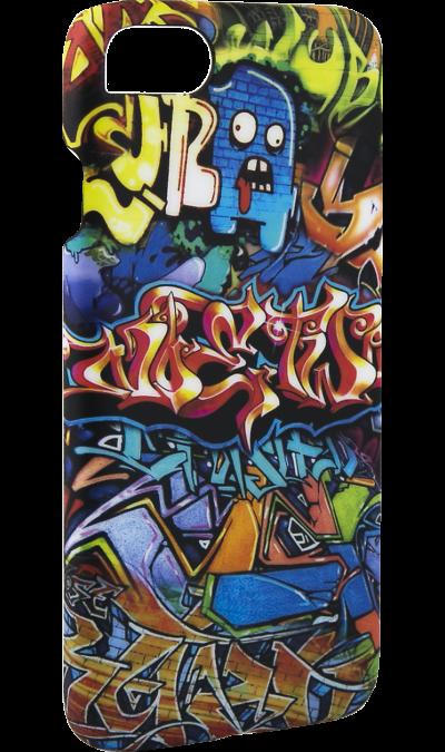 Чехол-крышка i-Paint GRAFFITI для Apple iPhone 7, пластик, узорЧехлы и сумочки<br>Чехол поможет не только защитить ваш смартфон от повреждений, но и сделает обращение с ним более удобным, а сам аппарат будет выглядеть еще более элегантным.<br><br>Colour: Разноцветный