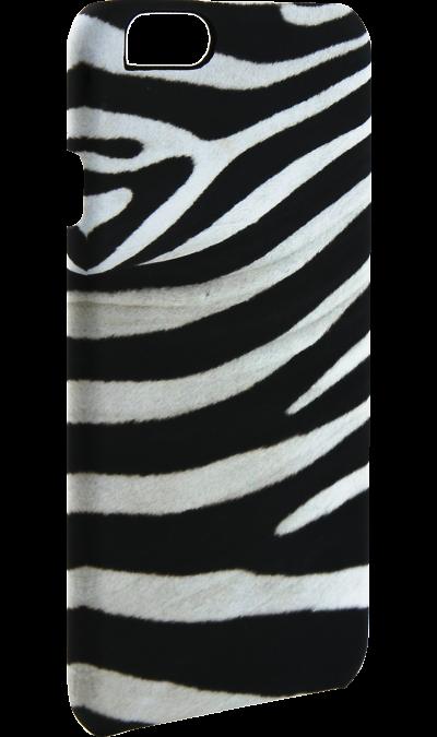 Чехол-крышка i-Paint ZEBRA для Apple iPhone 6/6S, пластик, узорЧехлы и сумочки<br>Чехол поможет не только защитить ваш смартфон от повреждений, но и сделает обращение с ним более удобным, а сам аппарат будет выглядеть еще более элегантным.<br><br>Colour: Разноцветный