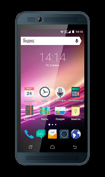 VERTEX Impress U TooСмартфоны<br>2G, 3G, Wi-Fi; ОС Android; Дисплей сенсорный емкостный 16,7 млн цв. 4.5; Камера 3 Mpix, AF; Разъем для карт памяти; MP3, FM,  GPS; Время работы 216 ч. / 4.5 ч.; Вес 142 г.<br><br>Colour: Синий