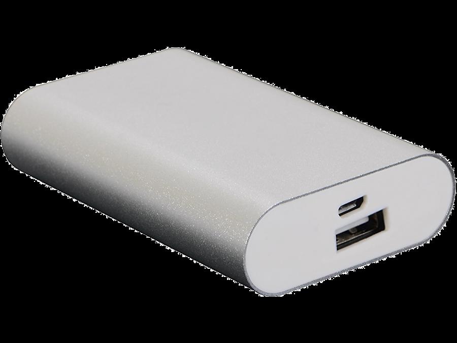 Аккумулятор Continent, Li-Ion, 5400 мАч, серебристый (портативный)