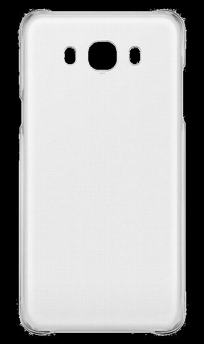 Чехол-крышка Samsung для Galaxy J7 (2016), поликарбонат, прозрачныйЧехлы и сумочки<br>Чехол Samsung поможет не только защитить ваш Samsung Galaxy J7 (2016) от повреждений, но и сделает обращение с ним более удобным, а сам аппарат будет выглядеть еще более элегантным.<br>