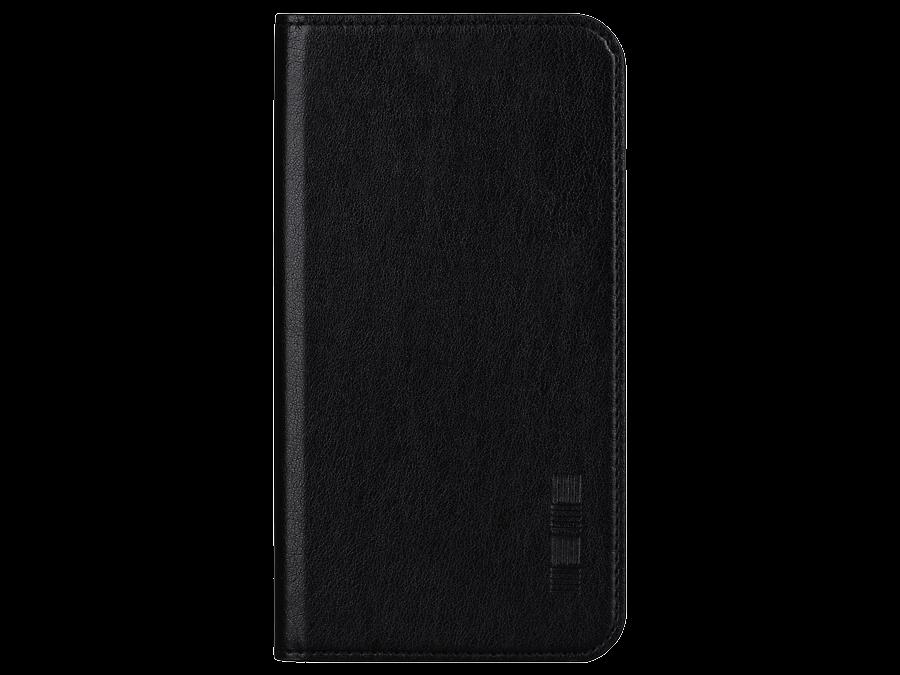 Чехол-книжка Inter-Step для Samsung Galaxy J2 Prime, кожзам, черный