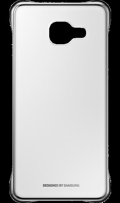 Samsung Чехол-крышка Samsung для Galaxy A5 (2016), поликарбонат (золотистая рамка)