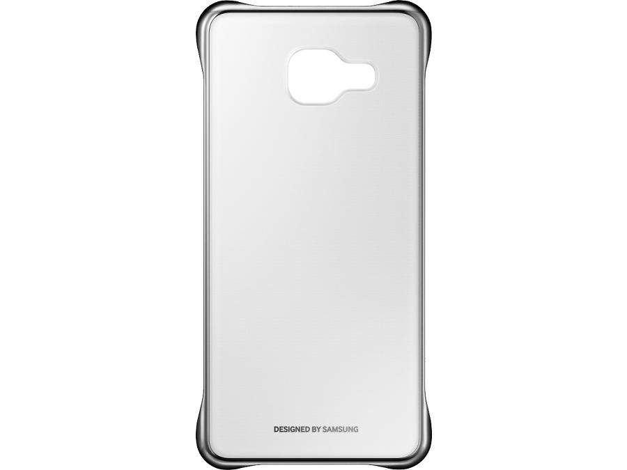 Чехол-крышка Samsung для Galaxy A5 (2016), поликарбонат (золотистая рамка)