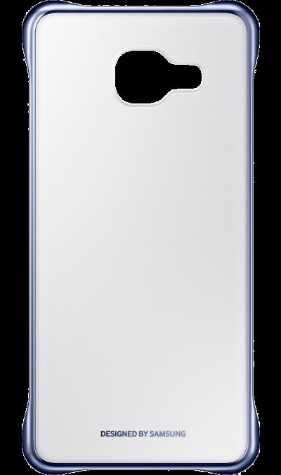 Чехол-крышка Samsung для Galaxy A5 (2016), поликарбонат (тёмно-синяя рамка)