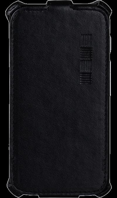Чехол-книжка Inter-Step для Lenovo A1010/A2016, кожзам, черный