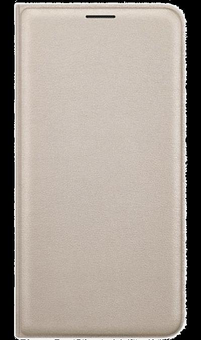 Чехол-книжка Samsung FLIP WALLET COVER для Samsung Galaxy J7 (2016), полиуретан, золотистыйЧехлы и сумочки<br>Чехол поможет не только защитить ваш Samsung Galaxy J7 (2016) от повреждений, но и сделает обращение с ним более удобным, а сам аппарат будет выглядеть еще более элегантным.<br><br>Colour: Золотистый
