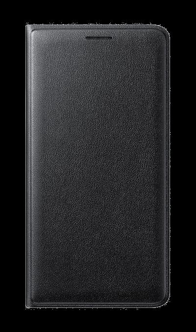 Samsung Чехол-книжка Samsung для Samsung Galaxy J3 (2016), полиуретан, черный аксессуар чехол samsung galaxy j3 2017 cojess tpu 0 3mm transparent