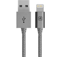 Кабель Revocharge USB - Lightning (серый)