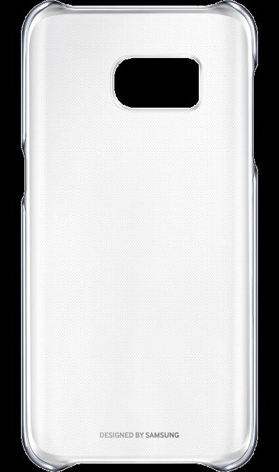 Чехол-крышка Samsung Clear Cover для Galaxy S7, поликарбонат, прозрачный (черная рамка)Чехлы и сумочки<br>Элегантный дизайн.<br>Созданный с блестящим металлическим обрамлением для придания премиальности, этот прозрачный чехол подчёркивает оригинальную красоту вашего телефона, одновременно защищая его от внешних повреждений.<br><br>Дополнительная защита.<br>Конструкция чехла обеспечивает дополнительную прочность для максимальной надёжности, которую вы по достоинству сможете оценить, когда в этом возникнет необходимость.<br><br>Идеальная эргономика.<br>Этот чехол просто ...<br>