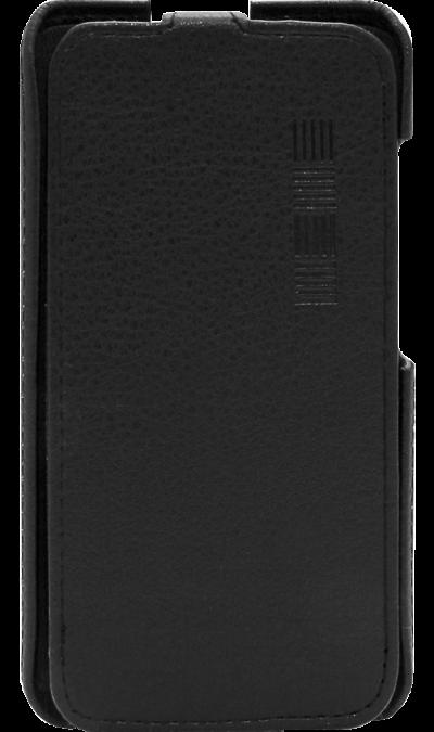 Чехол-книжка Inter-Step для Fly FS407 Stratus 6 , кожзам, черныйЧехлы и сумочки<br>Удобный чехол для Fly FS407 Stratus 6 поможет не только защитить ваш смартфон от повреждений, но и сделает обращение с ним более удобным, а сам аппарат будет выглядеть еще более элегантным.<br><br>Colour: Черный