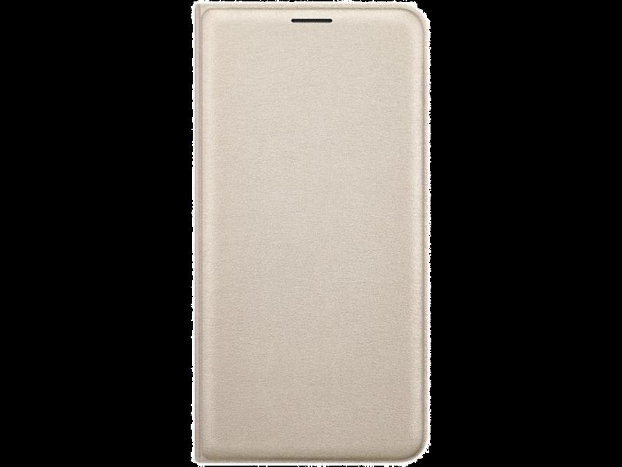 Чехол-книжка Samsung для Samsung Galaxy J5 (2016), полиуретан, золотистый