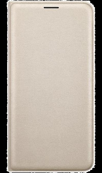 Samsung Чехол-книжка Samsung для Samsung Galaxy J5 (2016), полиуретан, золотистый чехол для samsung galaxy core gt i8262