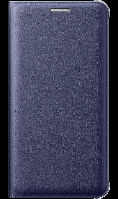 все цены на Samsung Чехол-книжка Samsung FLIP WALLET COVER для Galaxy A5 (2016), полиуретан, синий онлайн