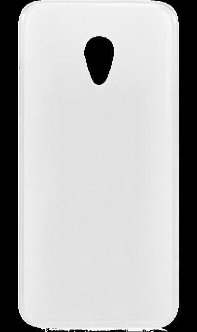 Чехол-крышка Inter-Step для Meizu M5, силикон, прозрачный
