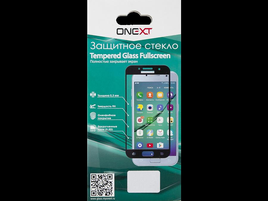 Защитное стекло One-XT для Galaxy A3 (2016) (с черной рамкой)