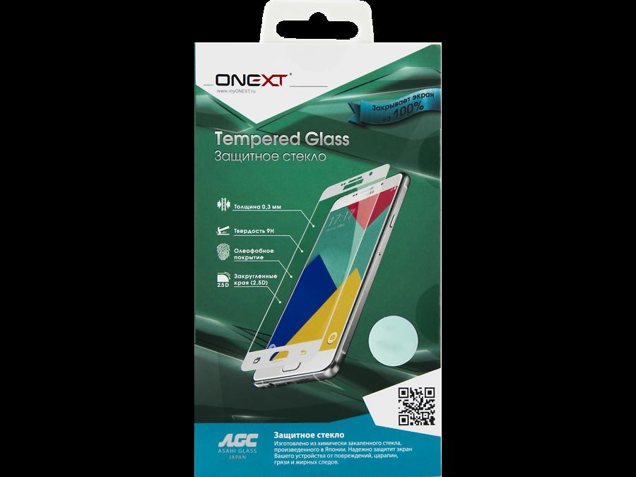 Защитное стекло One-XT для Galaxy A7 (2017) (с черной рамкой)