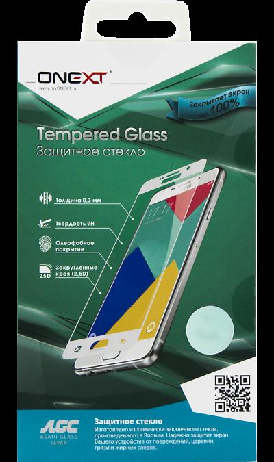 Защитное стекло One-XT для Galaxy A7 (2017) (с черной рамкой)Защитные стекла и пленки<br>Качественное защитное стекло прекрасно защищает дисплей от царапин и других следов механического воздействия. Оно не содержит клеевого слоя и крепится на дисплей благодаря эффекту электростатического притяжения.<br>