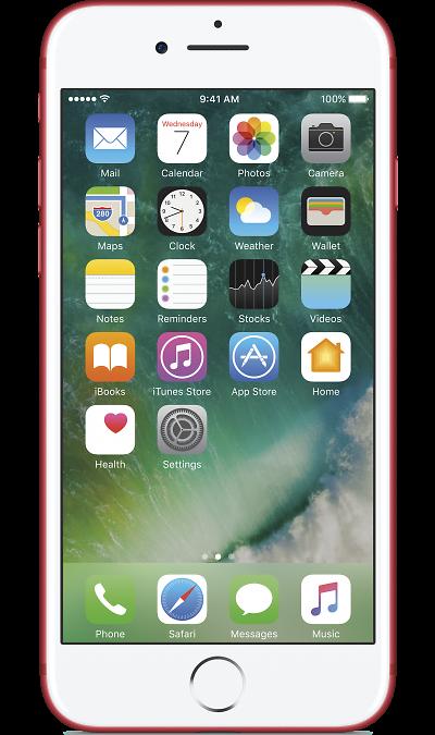 Apple iPhone 7 128Gb RedСмартфоны<br>2G, 3G, 4G, Wi-Fi; ОС iOS; Камера 12 Mpix, AF; MP3,  GPS / ГЛОНАСС; Повышенная защита корпуса; Время работы 240 ч. / 14.0 ч.; Вес 138 г.<br><br>Colour: Красный