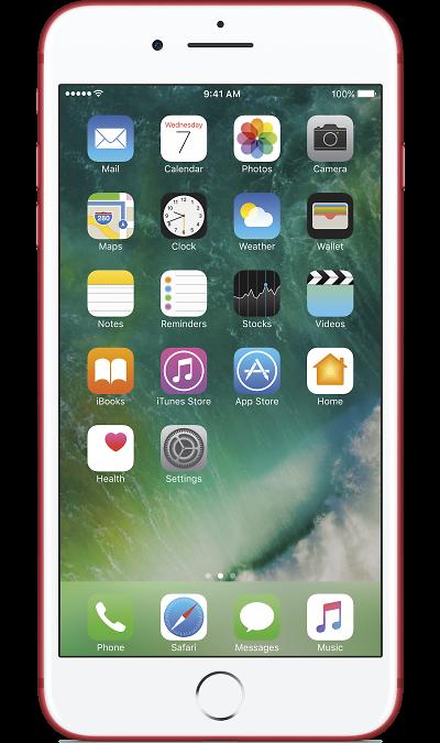 Apple iPhone 7 Plus 128Gb RedСмартфоны<br>2G, 3G, 4G, Wi-Fi; ОС iOS; Камера 12 Mpix, AF; MP3,  GPS / ГЛОНАСС; Повышенная защита корпуса; Время работы 384 ч. / 21.0 ч.; Вес 188 г.<br><br>Colour: Красный