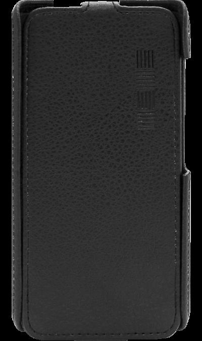 Чехол-книжка Inter-Step для Fly FS454 Nimbus 8, кожзам, черныйЧехлы и сумочки<br>Удобный чехол для Fly FS454 Nimbus 8 поможет не только защитить ваш смартфон от повреждений, но и сделает обращение с ним более удобным, а сам аппарат будет выглядеть еще более элегантным.<br><br>Colour: Черный