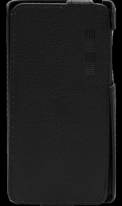 Чехол-книжка Inter-Step для Fly FS509 Nimbus 9, кожзам, черныйЧехлы и сумочки<br>Удобный чехол для Fly FS509 Nimbus 9 поможет не только защитить ваш смартфон от повреждений, но и сделает обращение с ним более удобным, а сам аппарат будет выглядеть еще более элегантным.<br><br>Colour: Черный