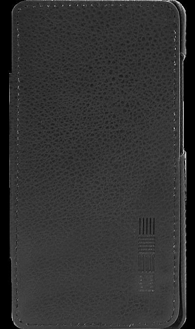 Чехол-книжка Inter-Step для Vertex Impress Open, кожзам, черныйЧехлы и сумочки<br>Чехол поможет не только защитить ваш Vertex Impress Open от повреждений, но и сделает обращение с ним более удобным, а сам аппарат будет выглядеть еще более элегантным.<br><br>Colour: Черный